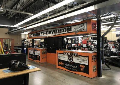 Harley Davidson Rust Cabinet Wrap