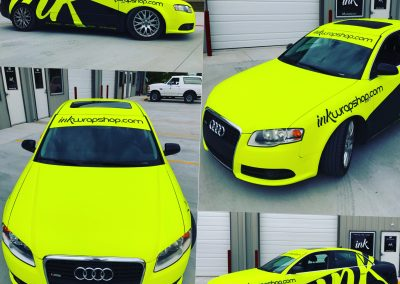 Ink Neon Wrap Audi